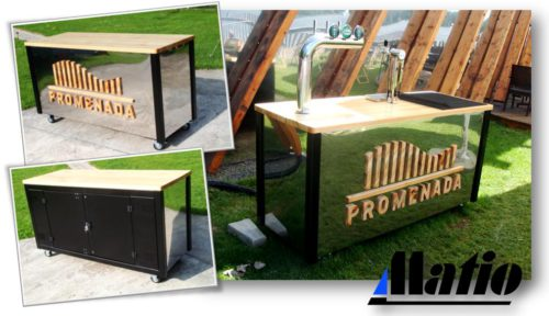 Rollbar do piwa Matio Promenada Paprocany Tychy  Fast Coffee Lody Gramy 01